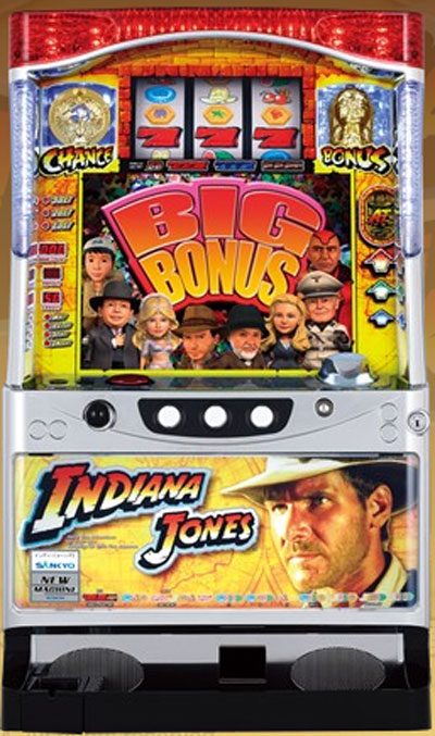 Indiana Jones Pachislo Skill Stop Slot Machine