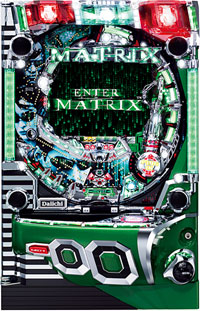 Enter the Matrix Pachinko Machine